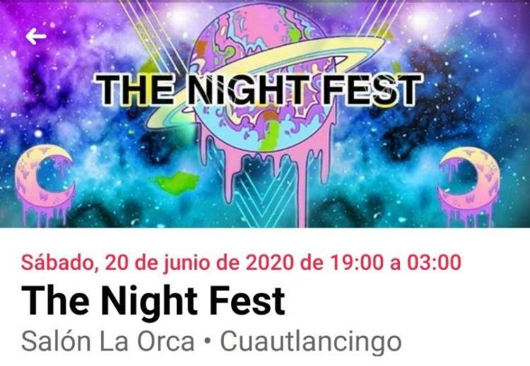 Retan a las autoridades y arman Night Fest en Cuautlancingo pese a Covid-19