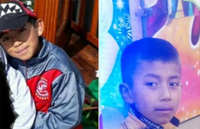 Giovani fue a la primaria en Zaragoza pero nunca llegó; sus padres lo buscan