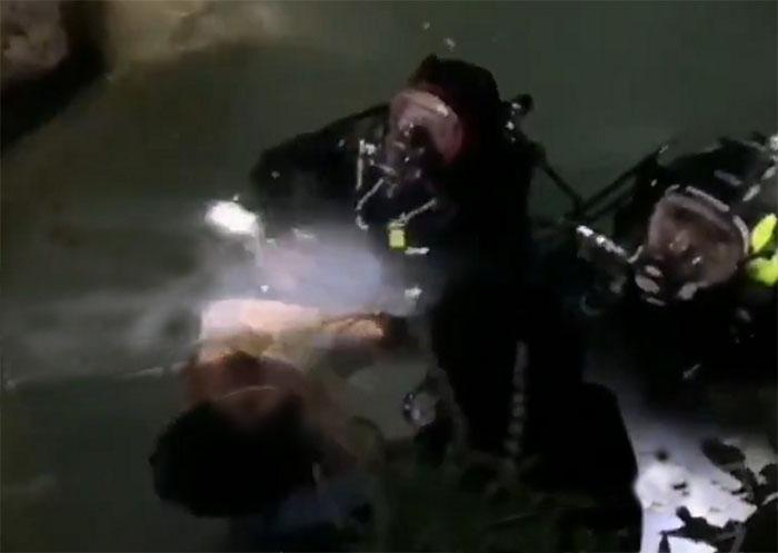Rescatan a niño ahogado en la cascada de San Agustín Ahuehuetla
