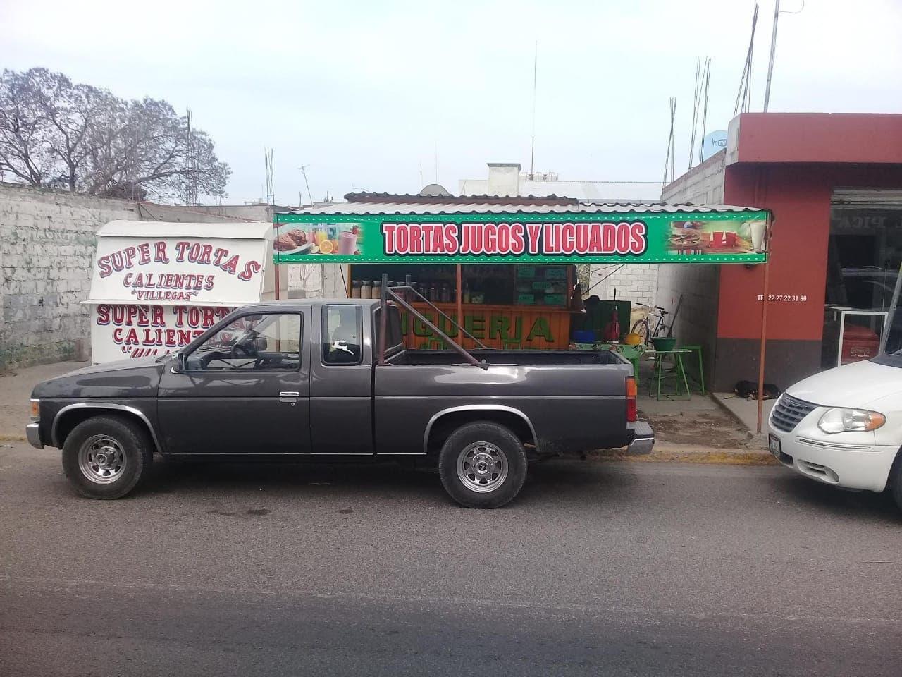 Roban camioneta en pleno zócalo de Tecamachalco