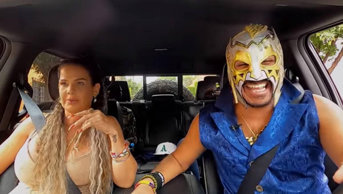 VIDEO Así es como Niurka se alburea a Escorpión Dorado