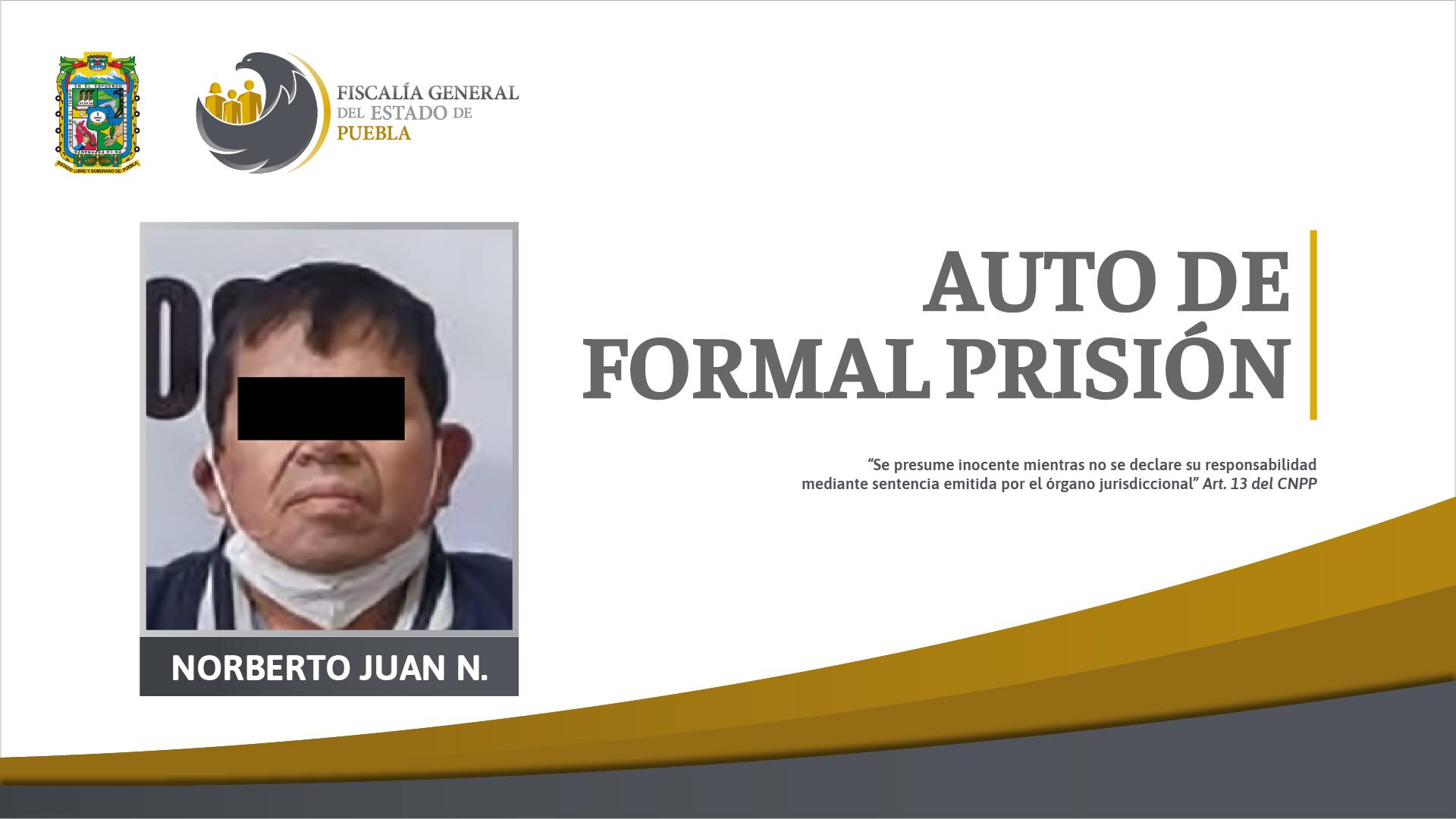 Por violar a sus dos hijastras aprehenden a Norberto en Juan C. Bonilla