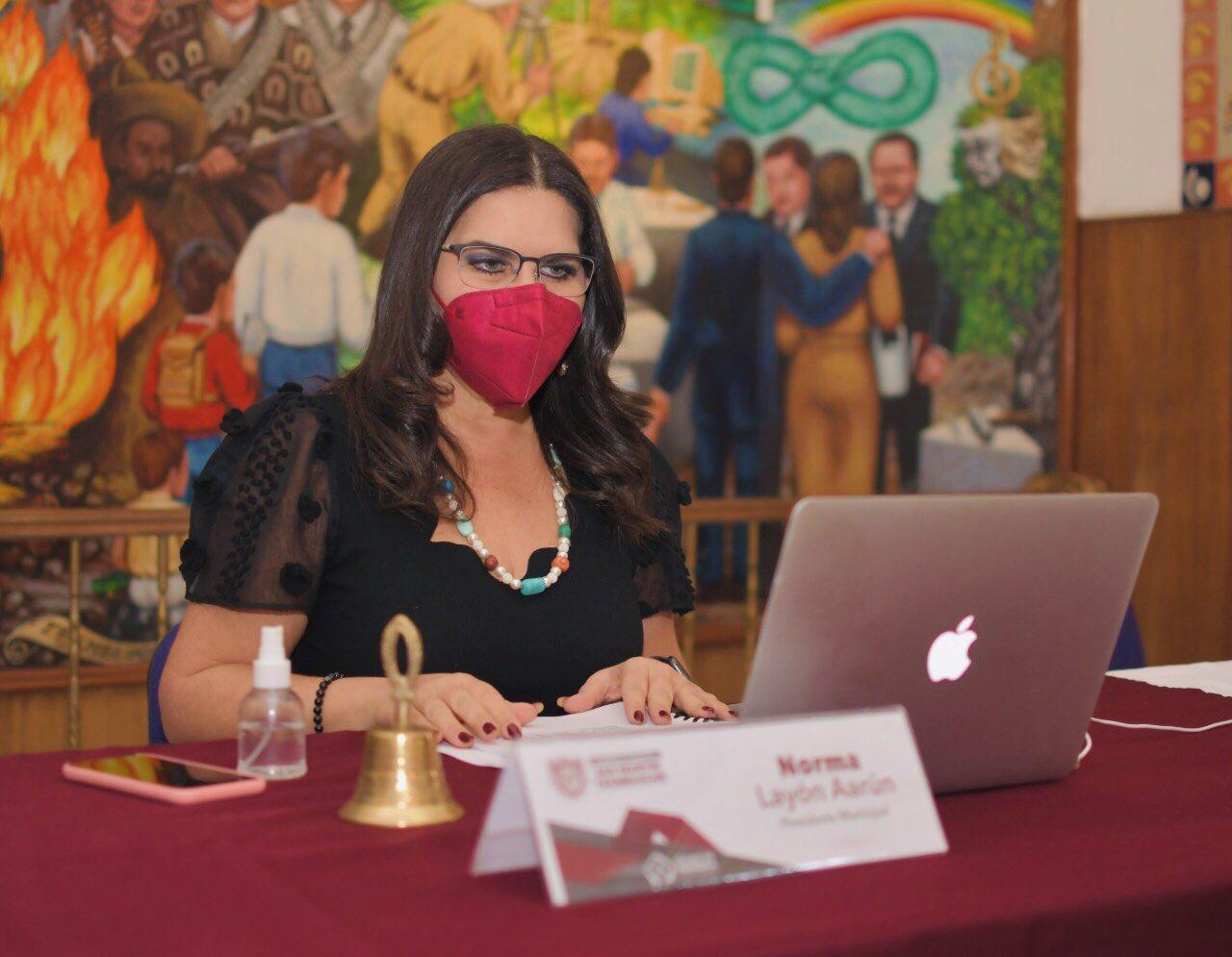 Norma Layón solicita licencia al cargo de presidenta de Texmelucan