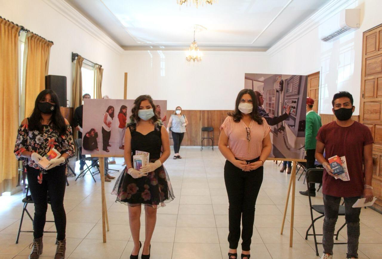 Con fotos en Instagram, concientizan sobre violencia de género en Texmelucan
