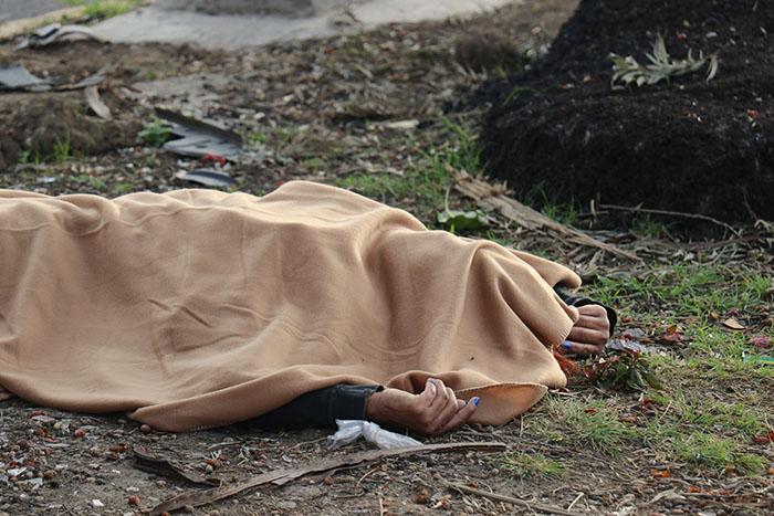 Muere atropellada y la dejan sobre camellón en la colonia La Paz