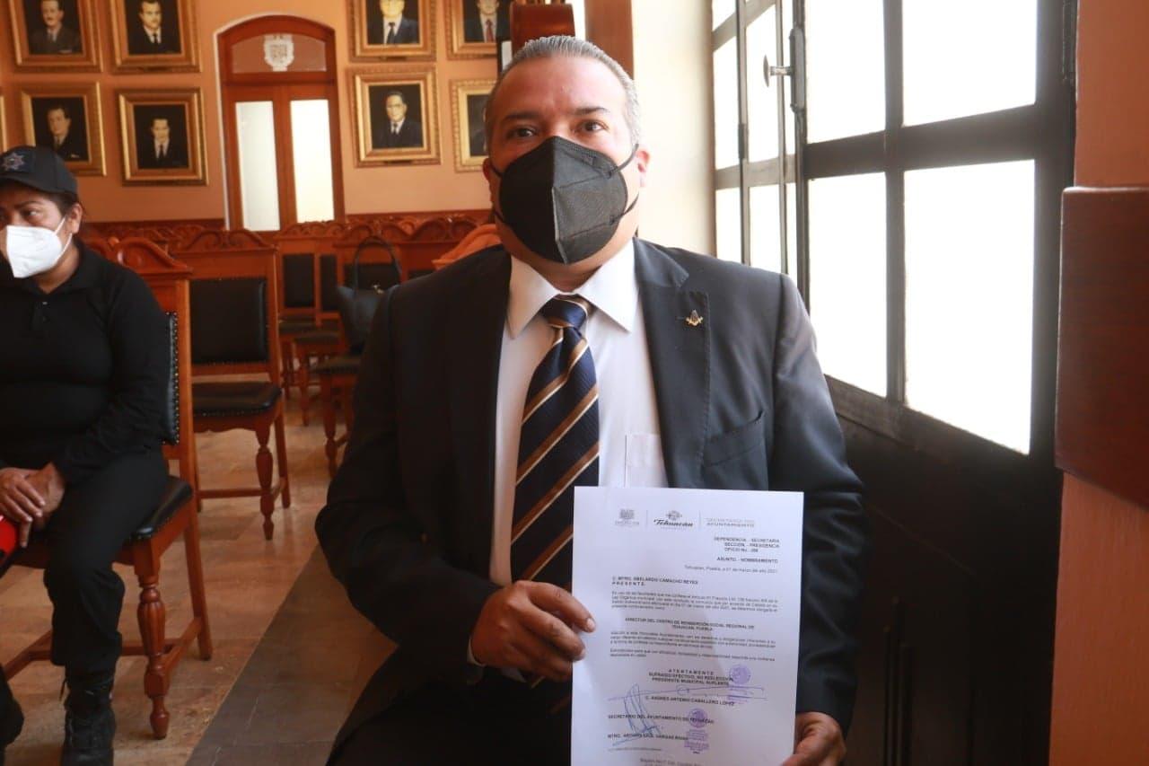Nombra Cabildo de Tehuacán a su sexto director del penal