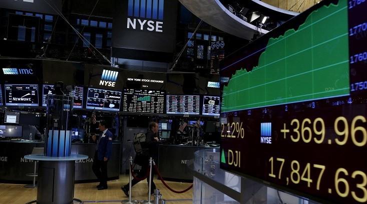 Índices del mercado bursátil estadounidense tuvieron desempeños mixtos