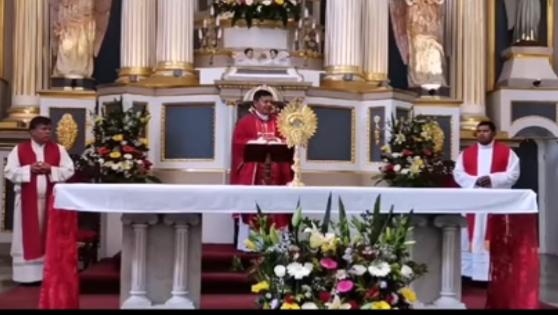 Pide obispo de Tehuacán a mantener medidas de prevención contra coronavirus