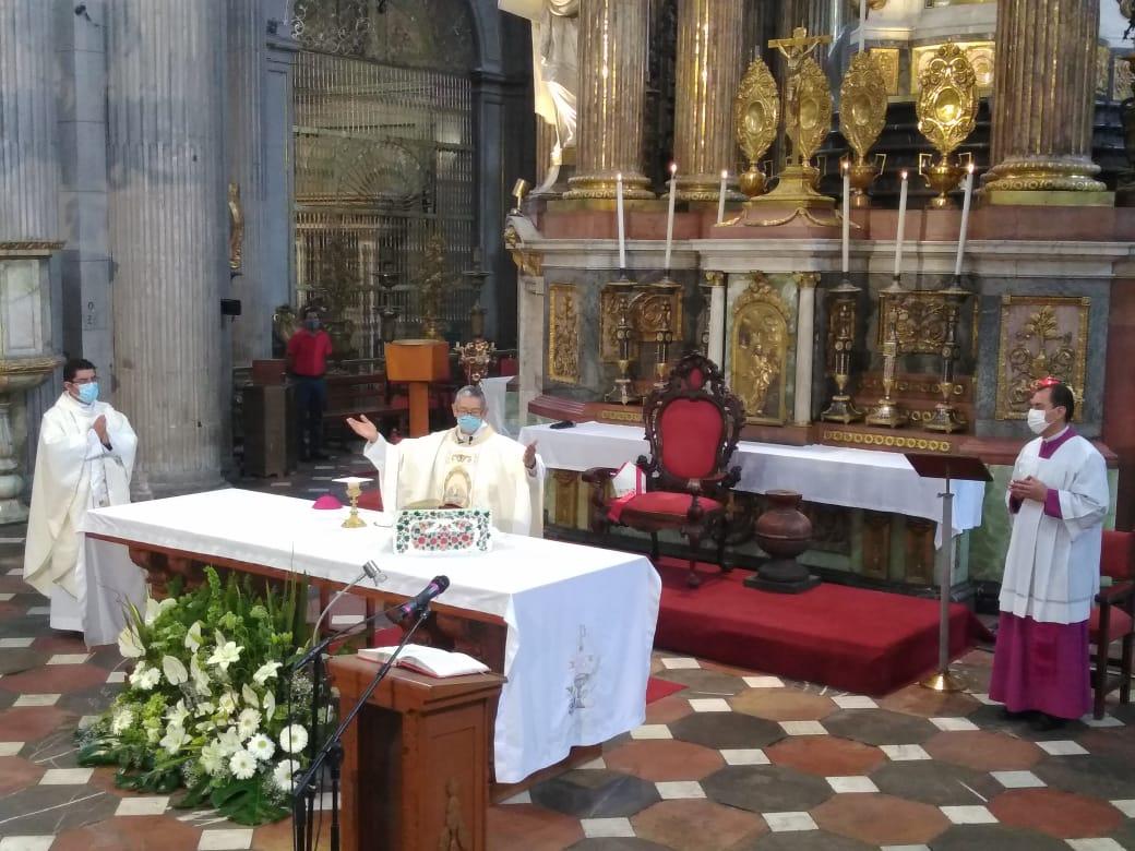 Desde Catedral de Puebla piden a población Quédate En Casa
