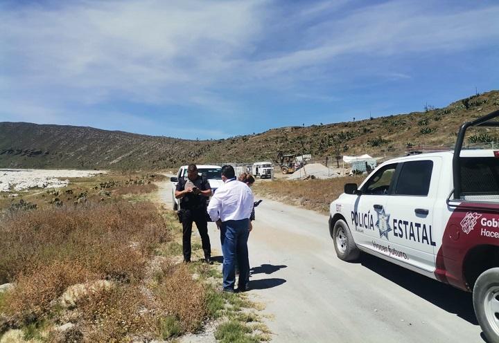 Denuncian ante FGR daños por obras en la Laguna de Alchichica