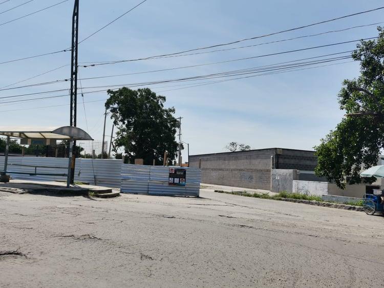 Detienen obra de Mega Elektra en Izúcar por falta de pago a trabajadores