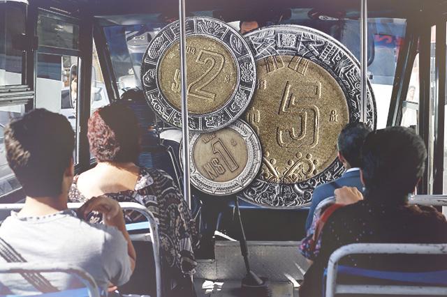 Este sábado aplica la nueva tarifa del transporte público en Puebla