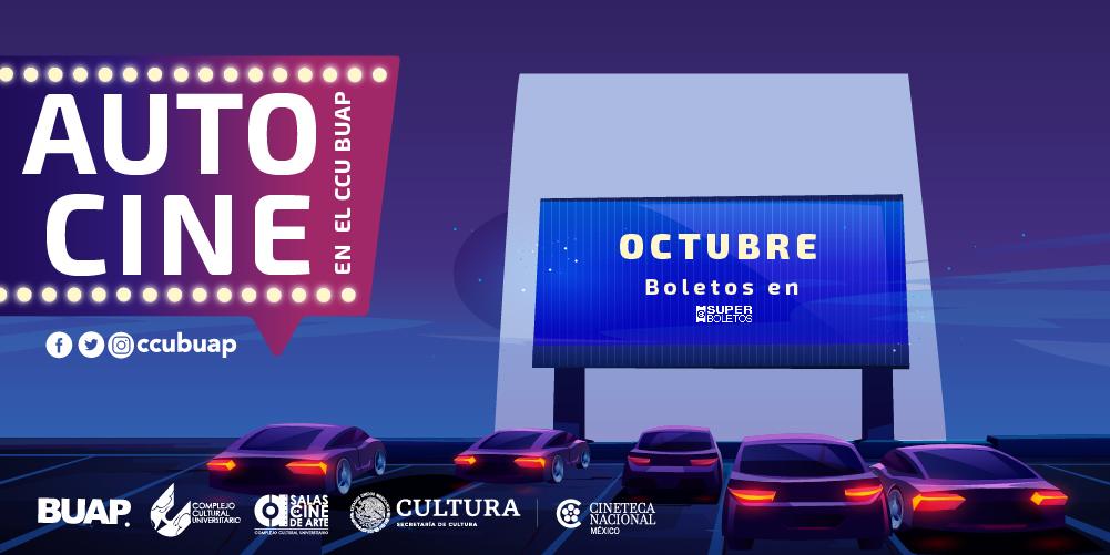 Autocine del CCU BUAP suma Cine de Arte a su cartelera