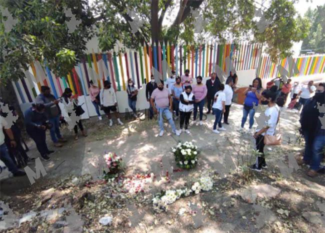 En homenaje a Monserrat familiares piden justicia por su feminicidio en Puebla