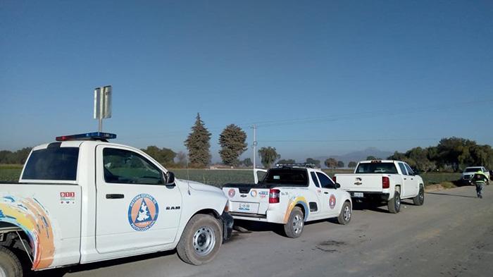 Suspenden clases por fuerte olor a gas en los Reyes de Juárez