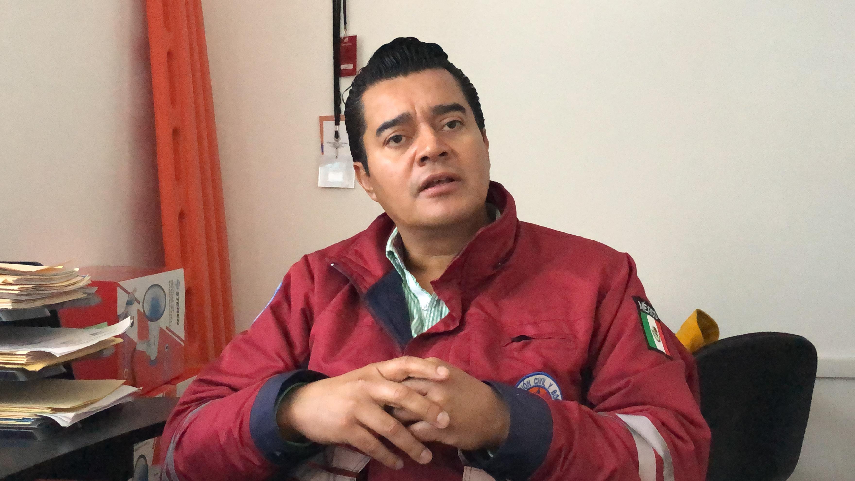 Director de Protección Civil de Cholula busca ser diputado local