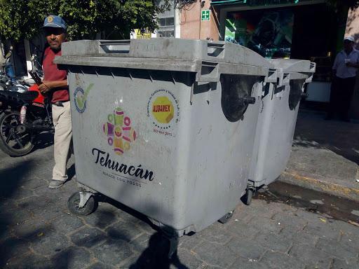 Ooselite ampliará número de contenedores de basura en Tehuacán