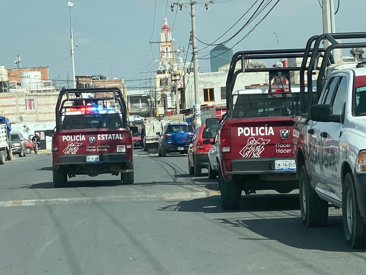 Hasta con helicóptero y Guardia Nacional despliegan operativo en Huejotzingo