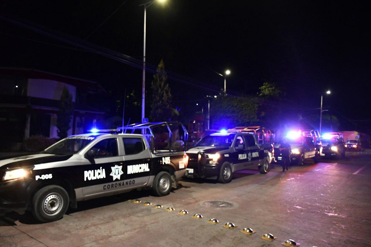 Detuvieron a 15 personas en Coronango en la última semana