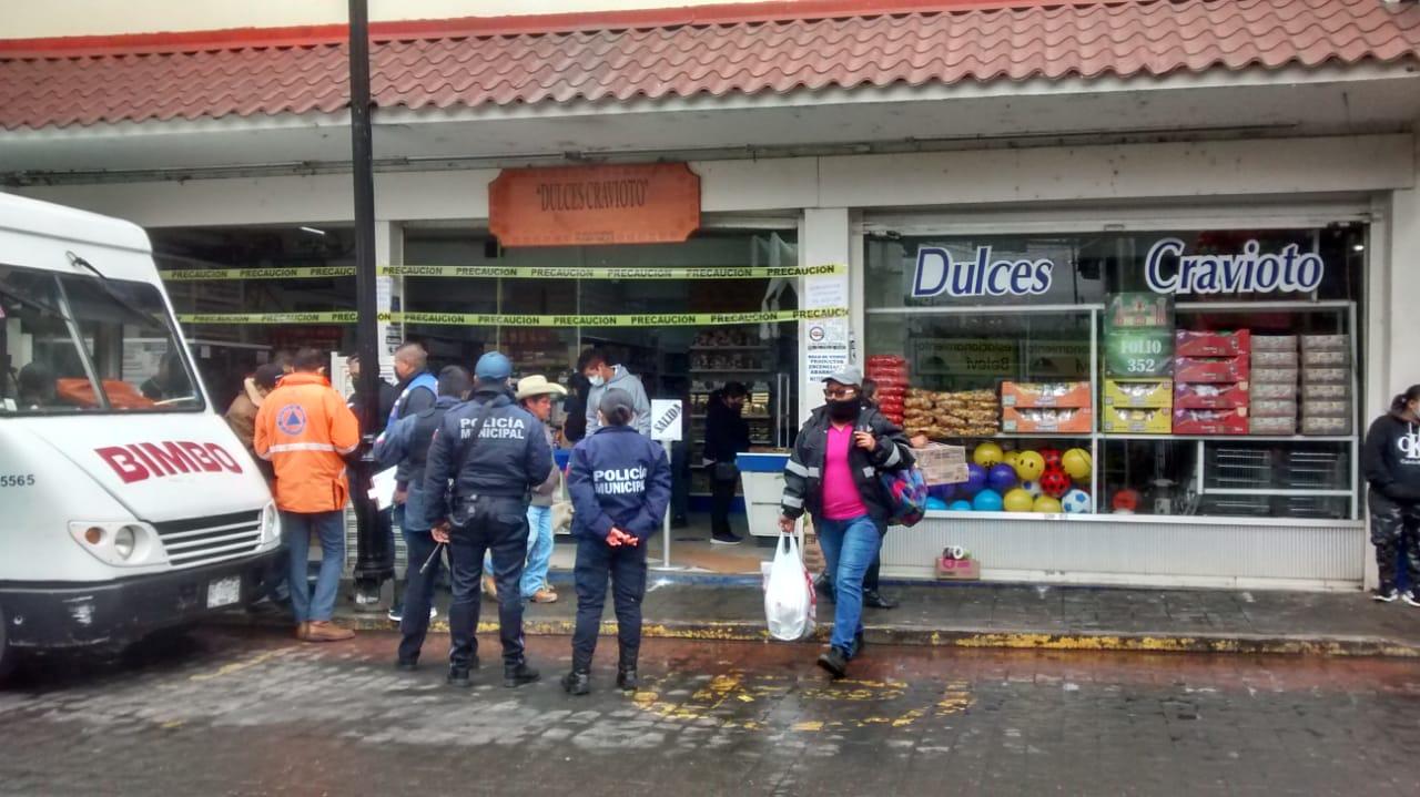 Dan cerrón a negocios en Huauchinango por violar decreto anticovid
