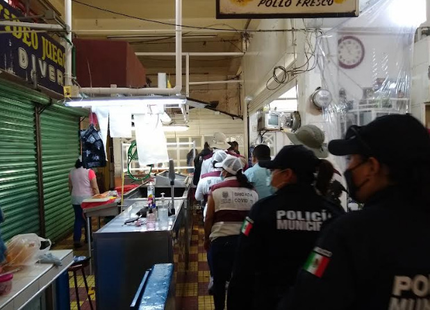 Clausuran en Tehuacán establecimientos por incumplir medidas sanitarias