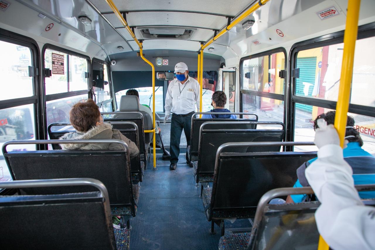 SMT multa a 166 unidades del transporte público por sobrecupo