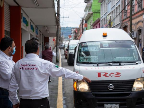 Realiza SMT operativos de sana distancia en Teziutlán