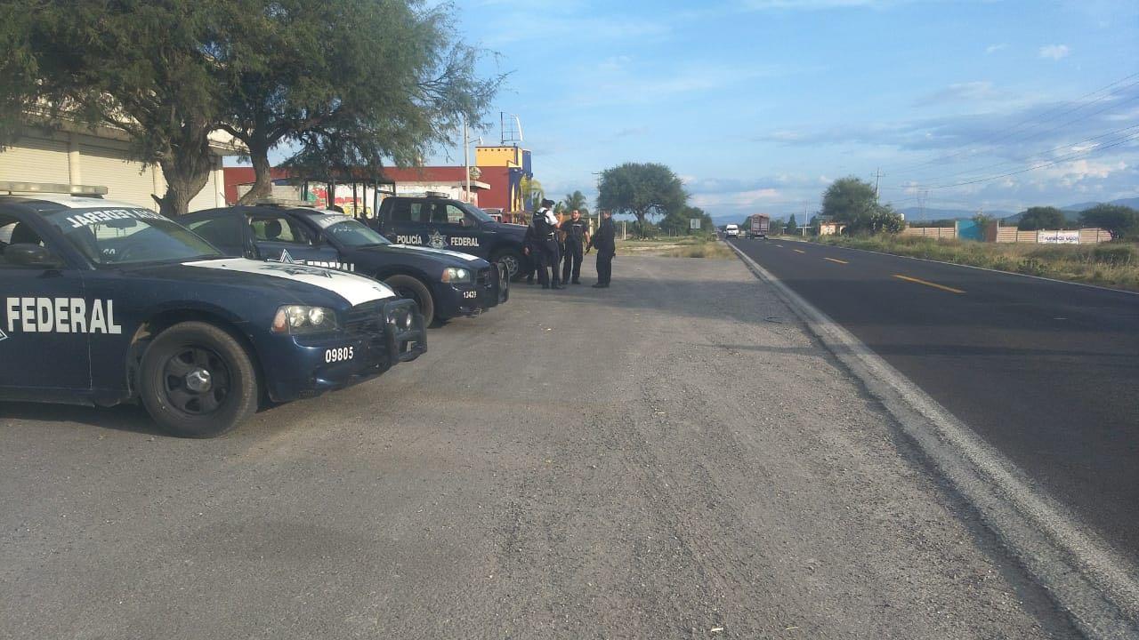 Operativo frustra asalto a autobús de línea Valles, en Yehualtepec