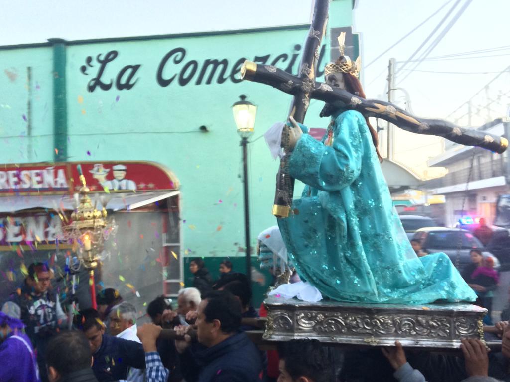 Inicia fiesta religiosa en honor a Padre Jesús de las Tres Caídas