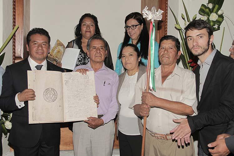 Conmemora San Andrés 300 años como República de Indios