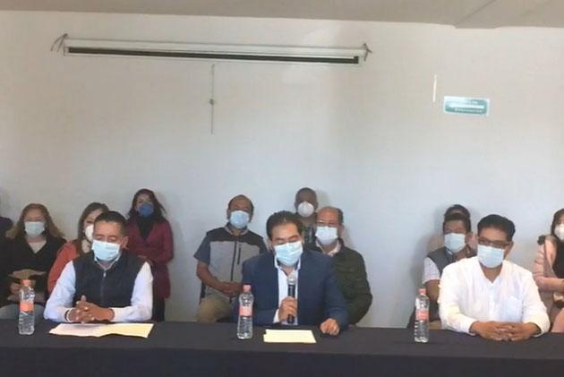 Panistas de San Andrés Cholula rechazan imposición de candidatos