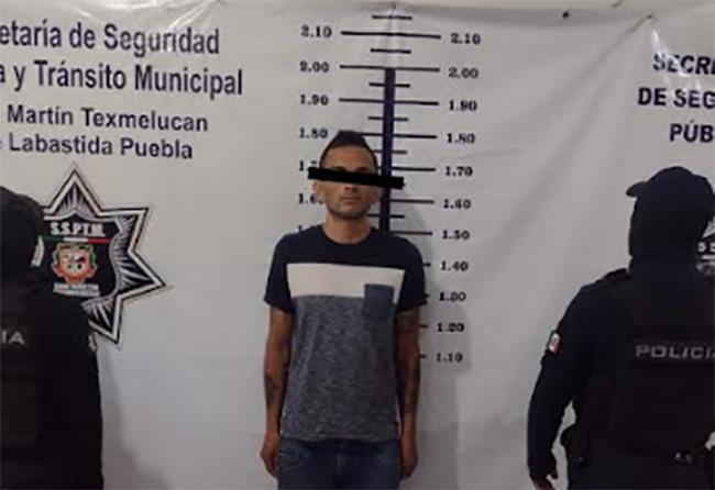 Cae El Gato por matar a El pantera en el mercado Domingo Arenas de Texmelucan