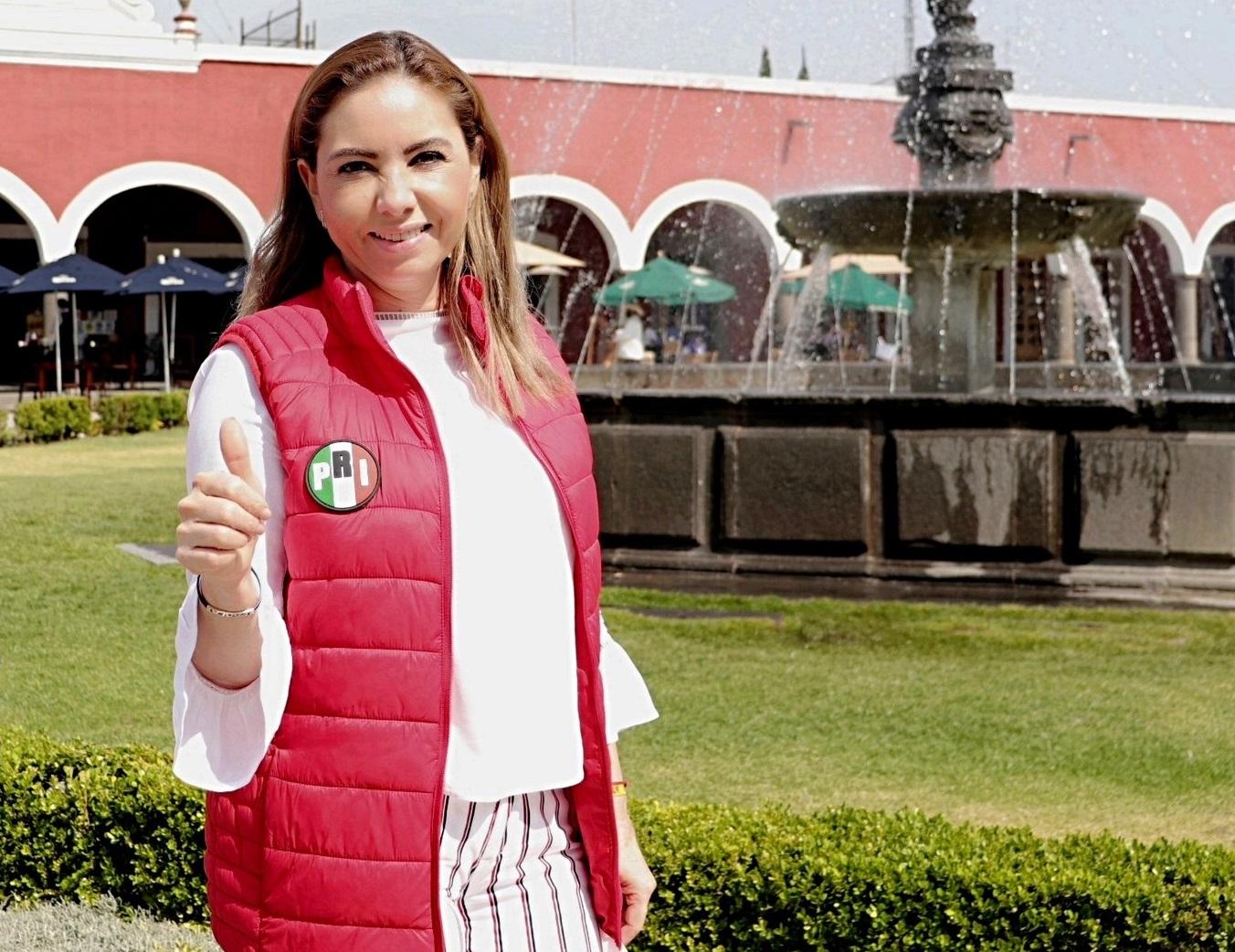 Arropada por PRI, PAN y PRD, ella disputará San Pedro Cholula a Morena