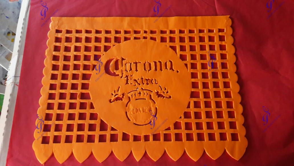 Por COVID artesanos de papel picado buscan otro empleo en Huixcolotla