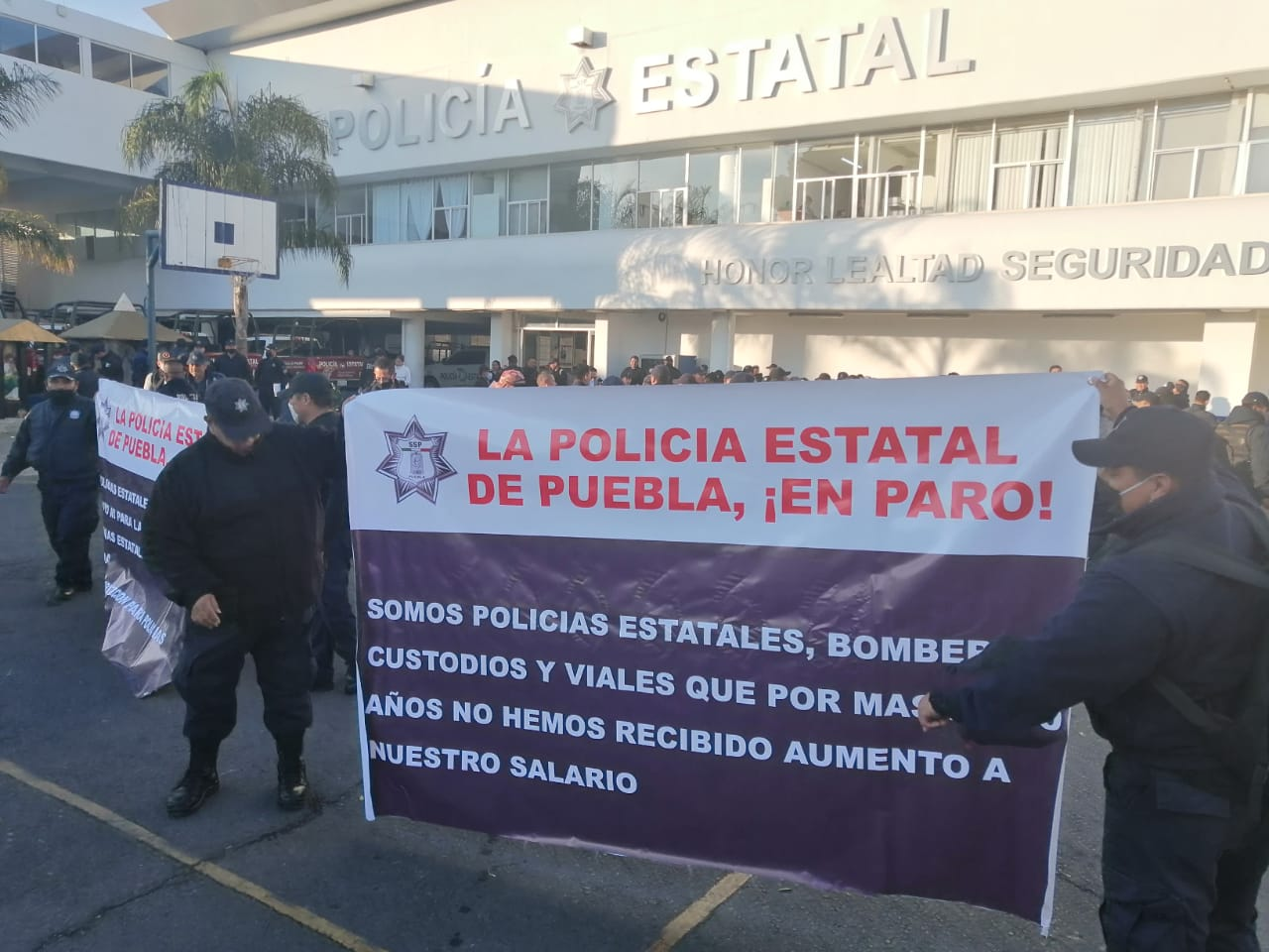 Policías estatales inician paro de labores en contingencia sanitaria