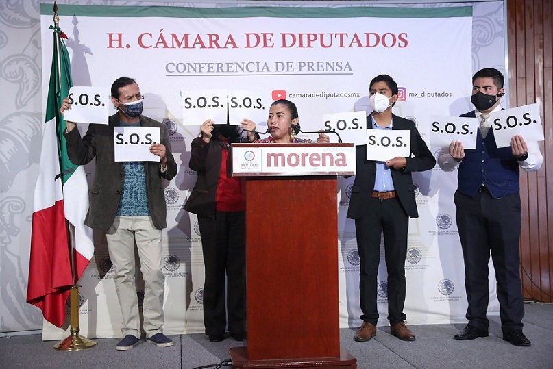Piden desde San Lázaro liberar a presos de Coyomeapan