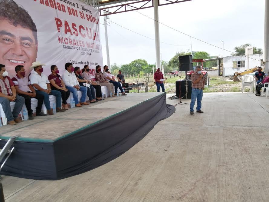 Obligan a transportistas a apoyar campaña de Morena en Francisco Z. Mena