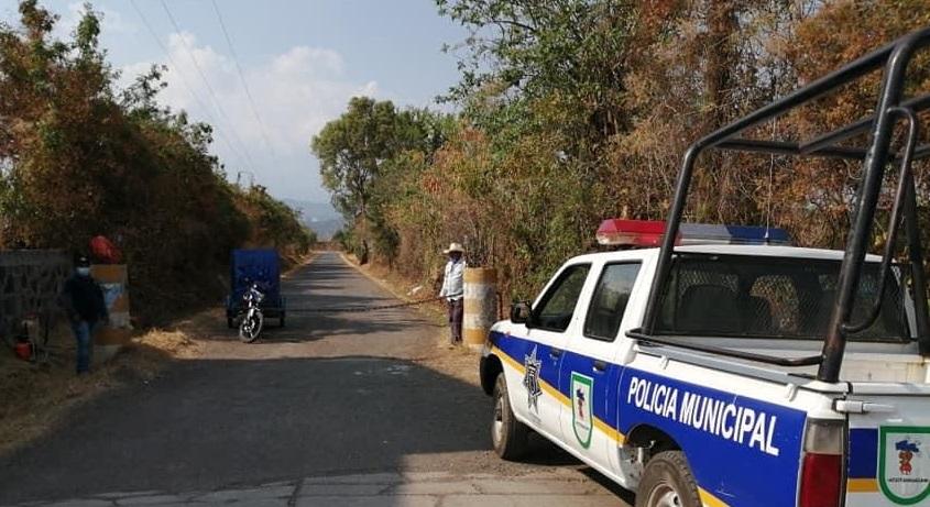 Disparan contra patrulla de policía estatal en Atzitzihuacán