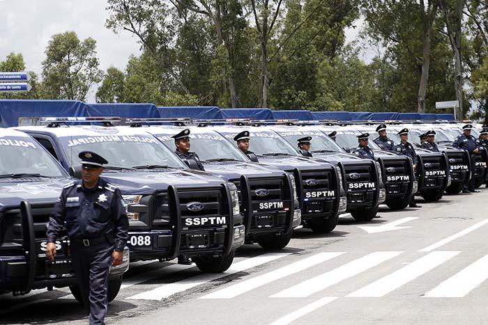 Arrendamiento de mil patrullas será menor a mil 300 mdp: Barbosa