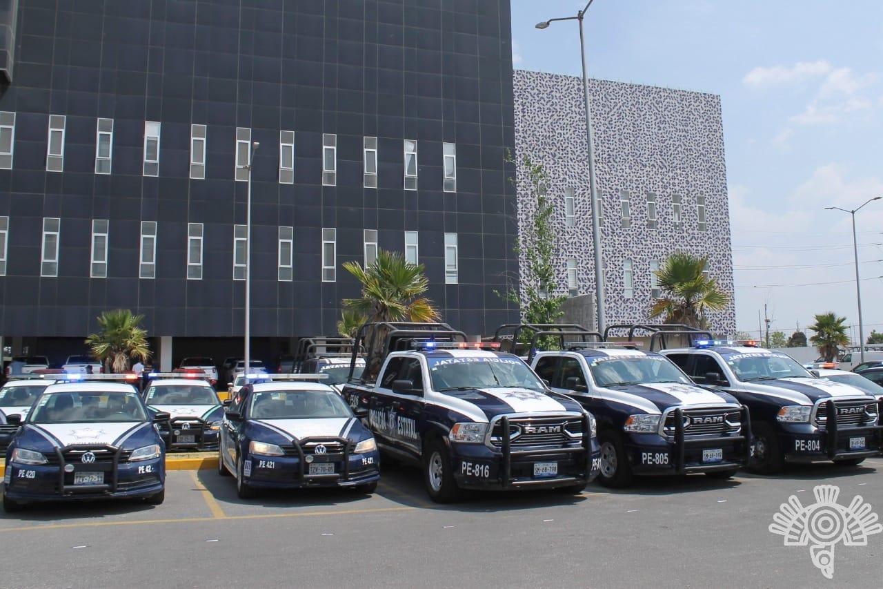 Entrega gobierno de Puebla patrullas a 15 municipios