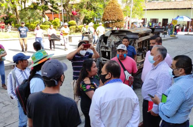 Exigen juicio político contra alcaldesa de Pahuatlán