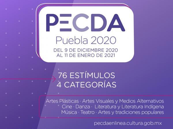 Por concluir convocatoria de estímulos a la creación en Puebla