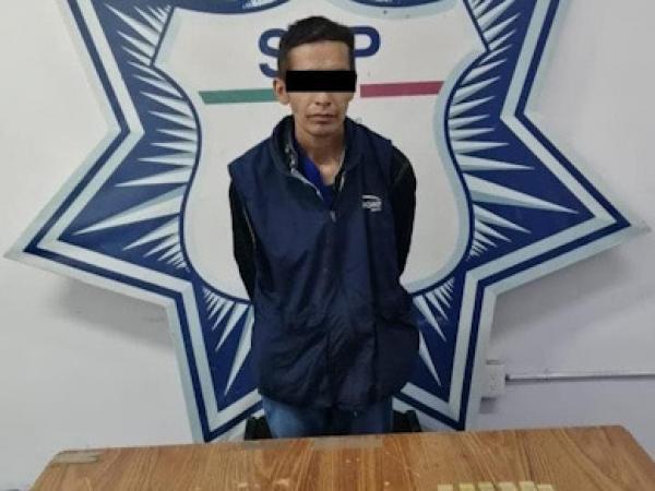 Cae narcovendedor de El Pelón del Sur en Puebla capital