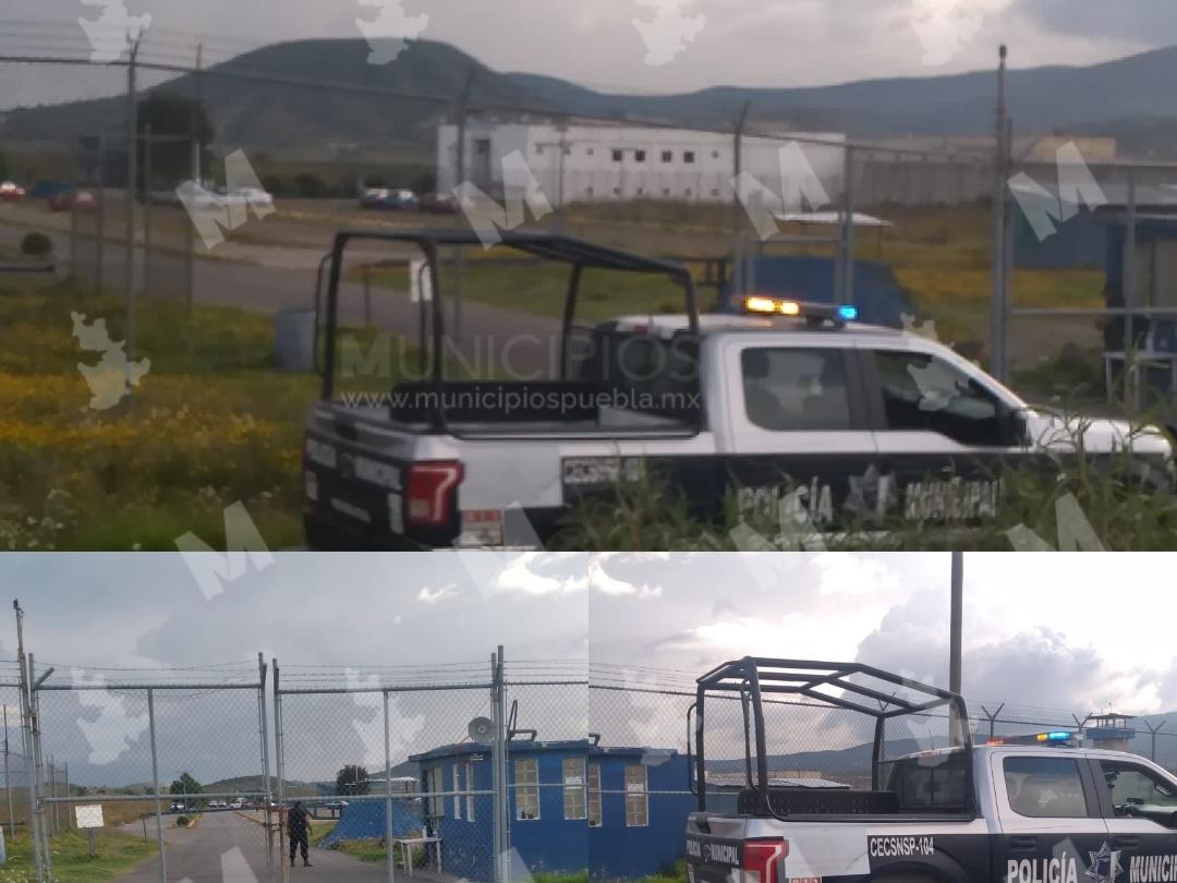 Reos se pelean y lesionan en el penal de Ciudad Serdán