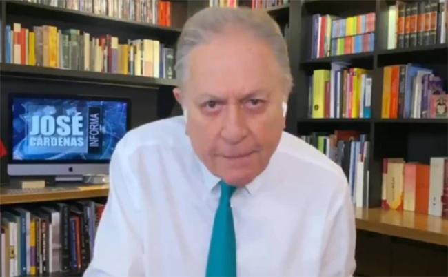 José Cárdenas se disculpa por insultar a hijo de AMLO