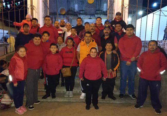 Parten peregrinos de Zacapoaxtla a basílica de Guadalupe