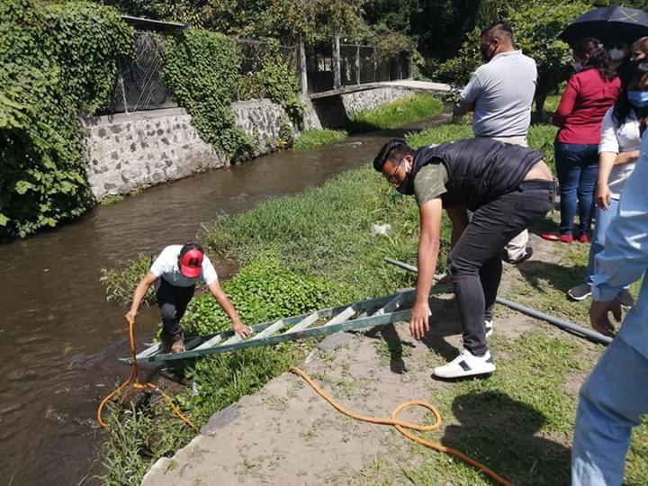 Niega Salud Comunitaria de Atlixco que perrera deposite canes muertos en ríos