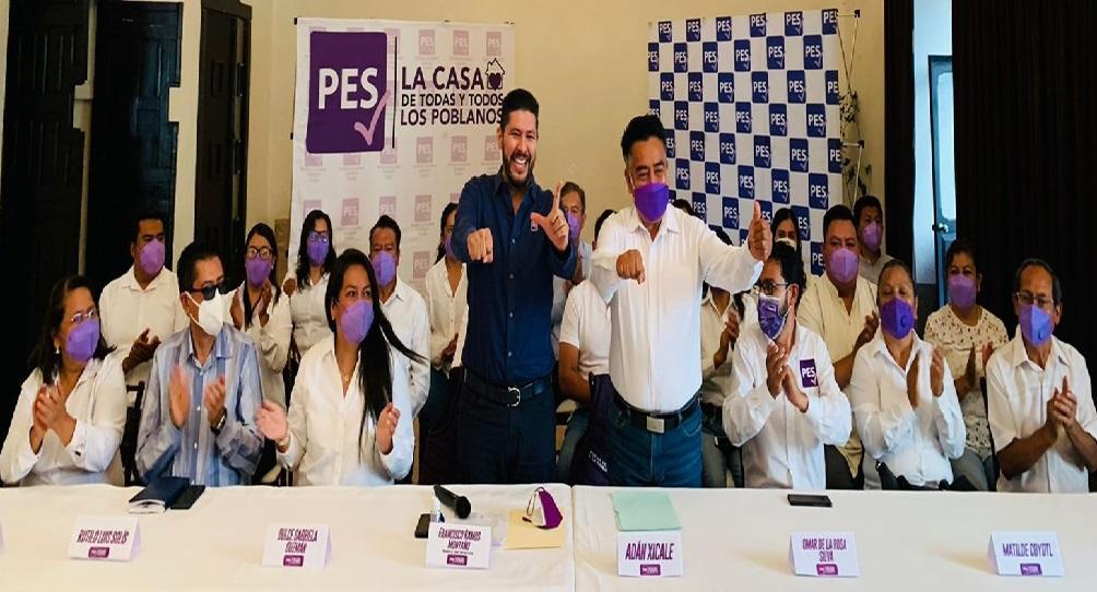 Xicale deja Morena y va a la alcaldía de San Andrés Cholula por el PES