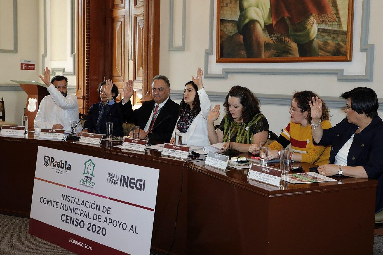 Instalan en Puebla comité con el INEGI para Censo 2020