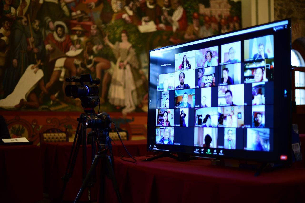 Participa Puebla en foro internacional de políticas públicas ante el Covid19